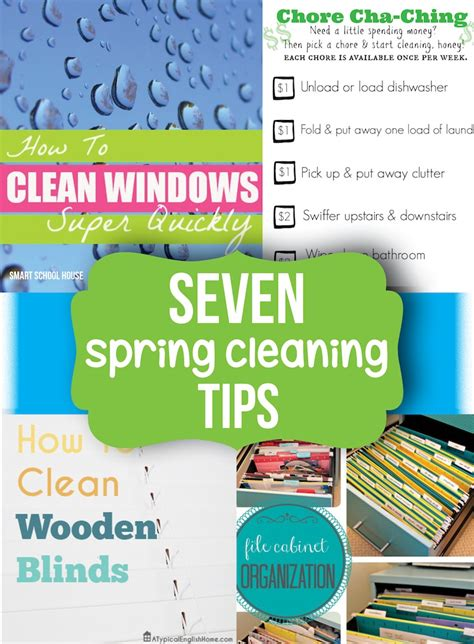 cleaning tips spring cleaning tips