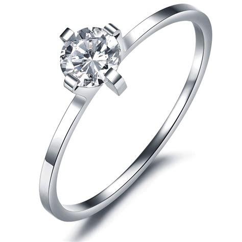 s titanium rings wedding promise