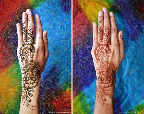 henna tattoos after henna before and after makedes