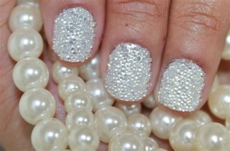 Ho5249 Diy Nail Pearl how to do 3d pearl nail manicure step by step diy tutorial how to