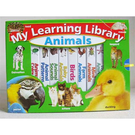 A Childs Library Of Learning Animal Freinds hinkler my learning library animals babyonline