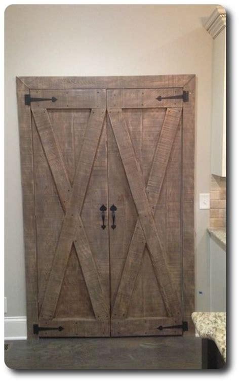 custom barn pantry doors pair  tennesseebarndoors