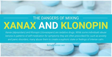 Clonazepam Detox Centers by The Dangers Of Mixing Xanax And Klonopin Polysubstance Abuse