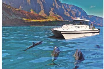 kauai private boat tours na pali riders kauai adventure tours