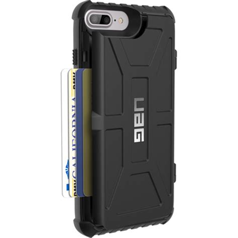 Uag Armor Iphone 7 Plus armor gear trooper card for iphone 6 iph8 7pls t bk