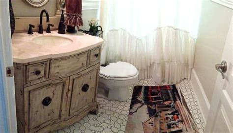 Vanity Spa New Orleans powder rooms shabby chic style bathroom new orleans by khb interiors
