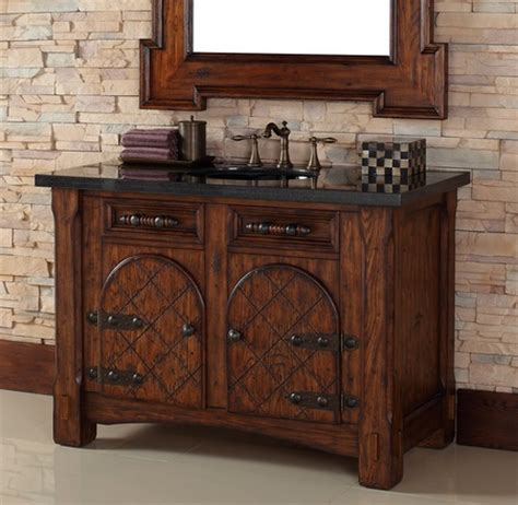 mediterranean style bathroom vanities a more