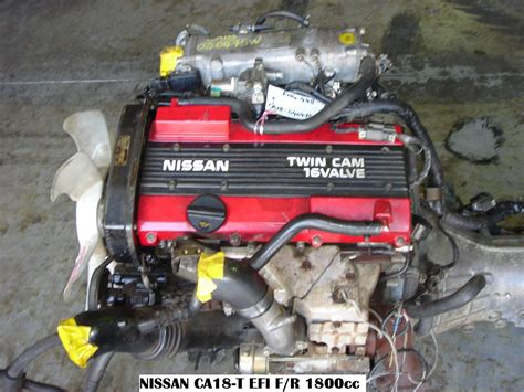 nissan turbo engines nissan engines nissan ca18 turbo fwd pulsar 2 jap euro