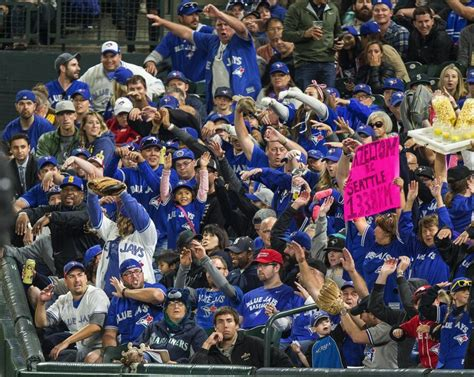 seattle mariners fan can t blame mariners fans for getting drowned out by jays