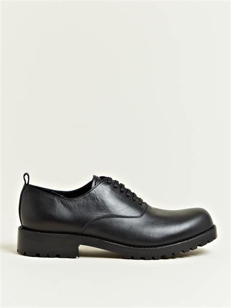 comme des garcons mens shoes lyst comme des gar 231 ons mens cowhide leather shoes in