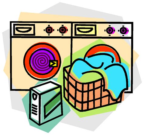 Car Detailing Supplies #17: Laundry-washer-clipart.png