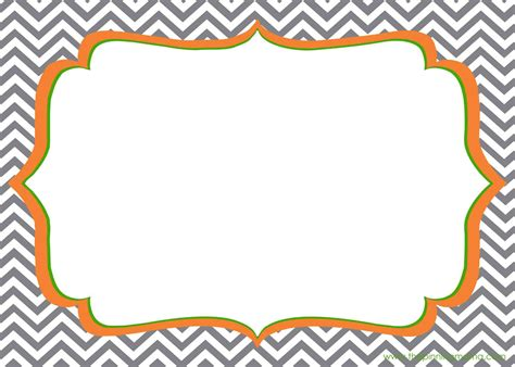 word for zigzag pattern blank invitations rectangle grey white zigzag pattern with