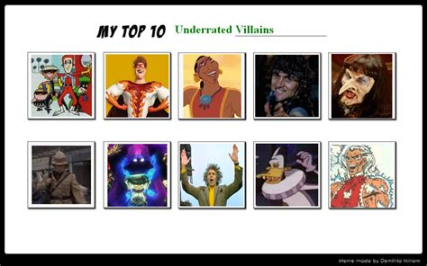 my top 10 underrated villains 03 by sithviremaster27 on