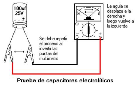 capacitor y sus partes como probar componentes electr 243 nicos