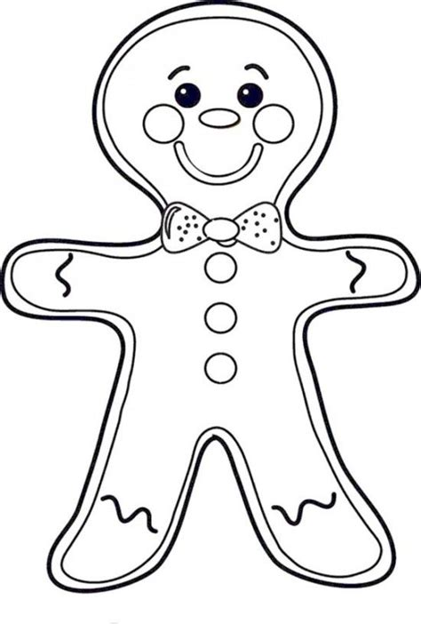 cute gingerbread man coloring page 17 best ideas about gingerbread man coloring page on