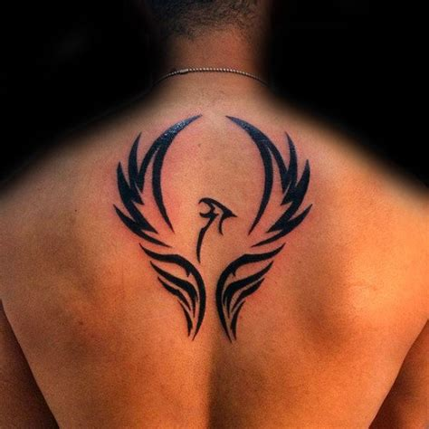 mens phoenix tattoo designs 40 tribal designs for mythology ink ideas