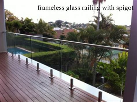 Sichtschutz Terrasse Glas 304 by Frameless Glass Railing Frameless Glass Balustrade