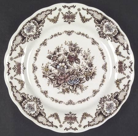 brown pattern china nikko windsor brown multicolor at replacements ltd
