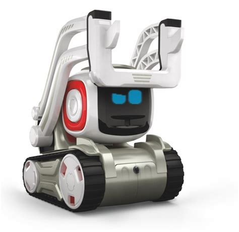 cozmo is a robot with a big brain and an even bigger