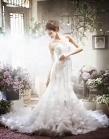 Perfect korean wedding dresses