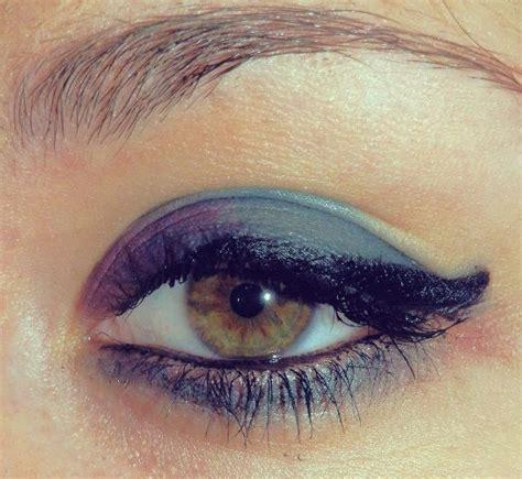 ugly blue color blue color eye eye liner girl image 340665 on favim com