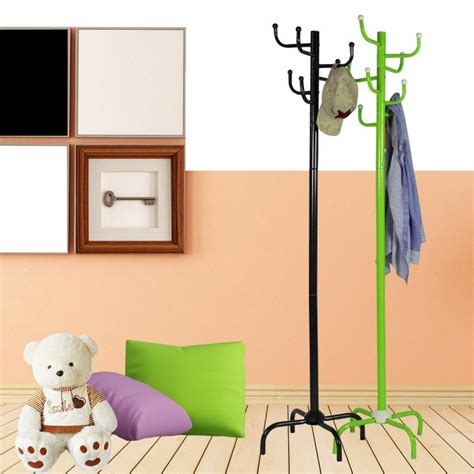 Hanger Busagantungan Baju Gantungan Fleksibel fashion creative wrought iron coat rack hanger landing simple vertical wrought iron interior
