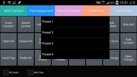 tutorial drum pad android midi drum pad android apps on google play