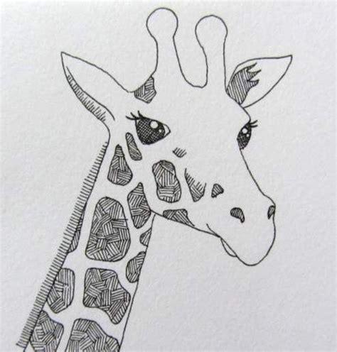 how to draw a giraffe doodle best 25 giraffe drawing ideas on girraffe
