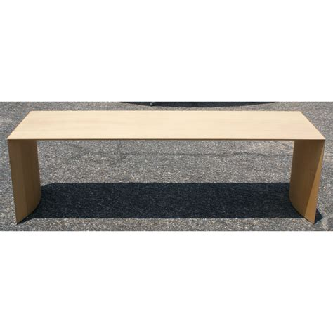 giulio plywood bench from design within reach ebay