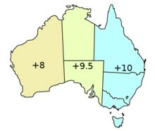time in australia simple english wikipedia, the free