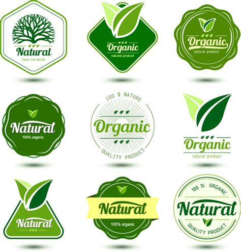 design your label free natural product labels design vector vector label free