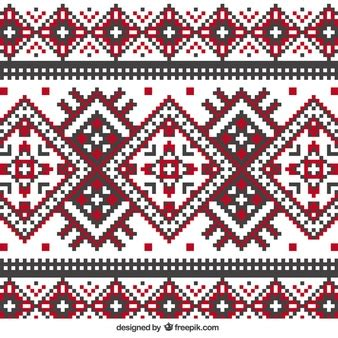 Embroidery Vectors Photos And Psd Files Free Download Knitting Pattern Design Templates