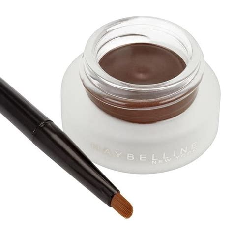 Maybelline Gel Liner Brown 3 alternative uses for a regular brown gel eyeliner beaut ie