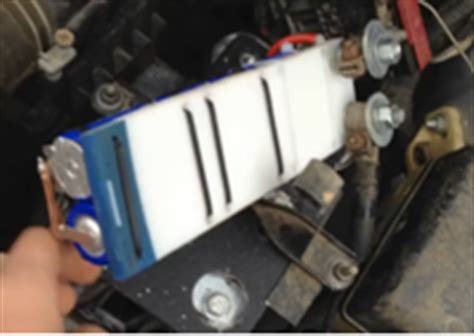 capacitors replace car battery changing car battery into low cost and lightweight capacitors brilliant diy