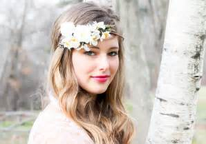 Headband With Flower - wedding hair accessories white bridal hairpiece wedding