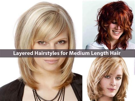 Mid Length Hairstyles For Thin Hair by Everlasting Layered Hairstyles For Medium Length