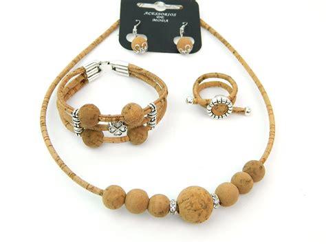 from jewelry aliexpress buy mb cork portugal cork jewelry set