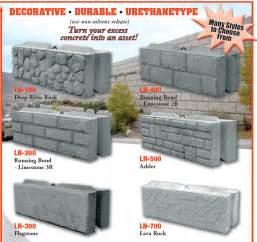 Decorative Concrete Wall Forms Molds For Concrete Blocks Images