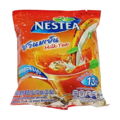 Nestle Nestea Thai Milk Tea Import 13 Sachet jual nestle nestea thai milk tea minuman instan harga kualitas terjamin blibli