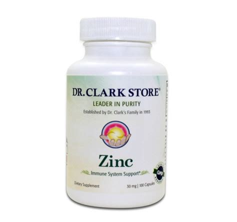 What Type Zinc For Detox by Zinc 30mg Sante Detox
