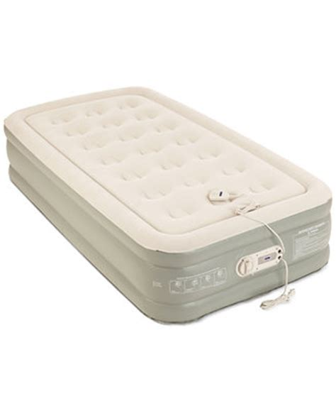 Macy S Air Mattress by Aerobed Premier 2 Layer 16 Quot Air Mattress With Built