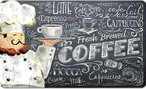 Coffee Kitchen Mat by Decorative Kitchen Floor Mats Stain Proof