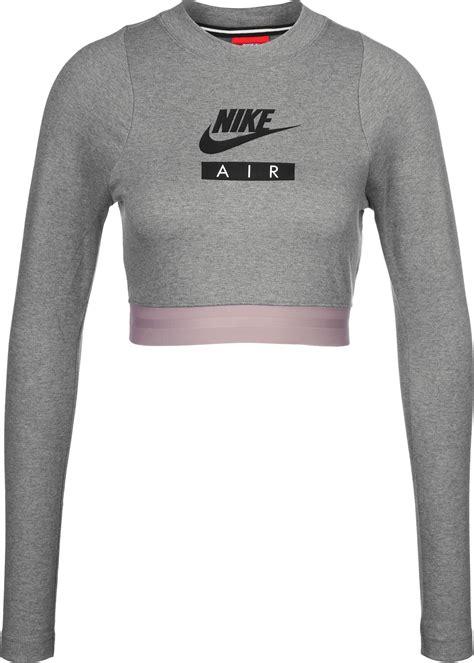 Decke Grau Meliert by Nike W Crop Top Grau Meliert Lila