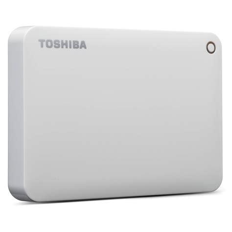 Hardisk Toshiba Canvio Connect toshiba 1tb canvio connect ii portable drive hdtc810xw3a1