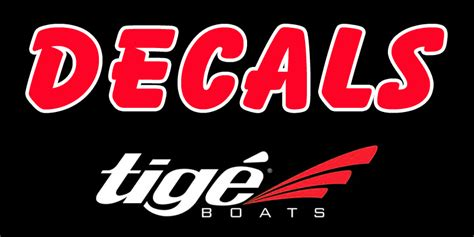 tige boats decals tige boat decals