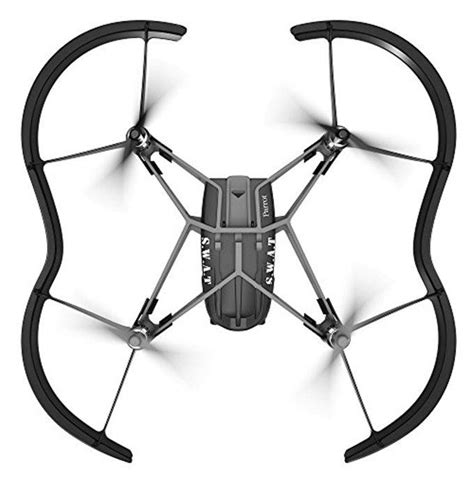 parrot airborne night swat drone negro