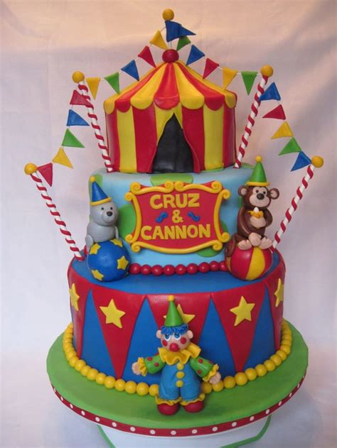 carnival themed cakes amazing circus cake circus cakes pinterest