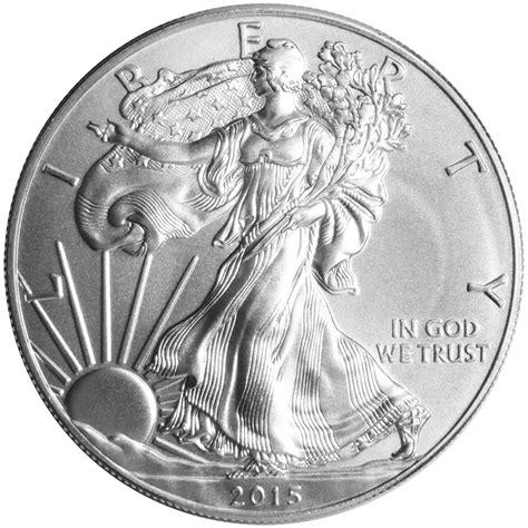 1 oz silver eagle ebay 2015 1 american silver eagle 1 oz brilliant uncirculated