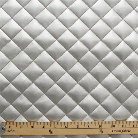 quilted leather faux leather padded cushion