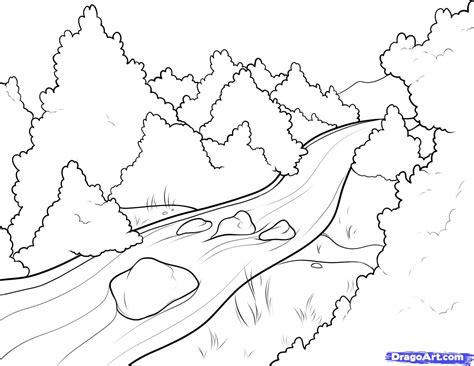coloring page of mississippi river best photos of river coloring pages river cartoon